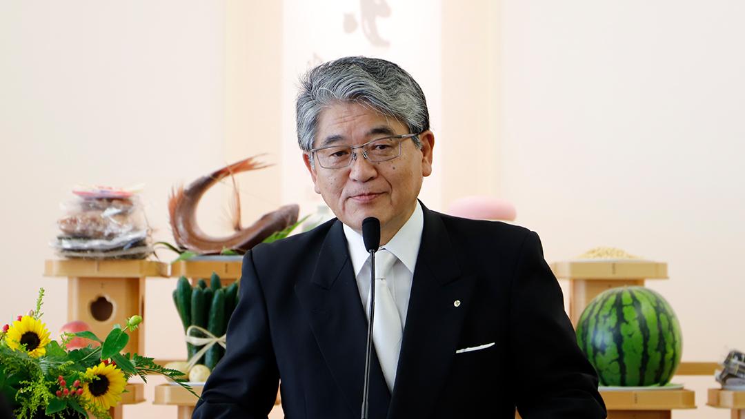 Palestra do Rev. Michio Shirasawa