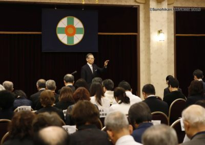 教主様をお迎えして「近江教会信徒の集い」