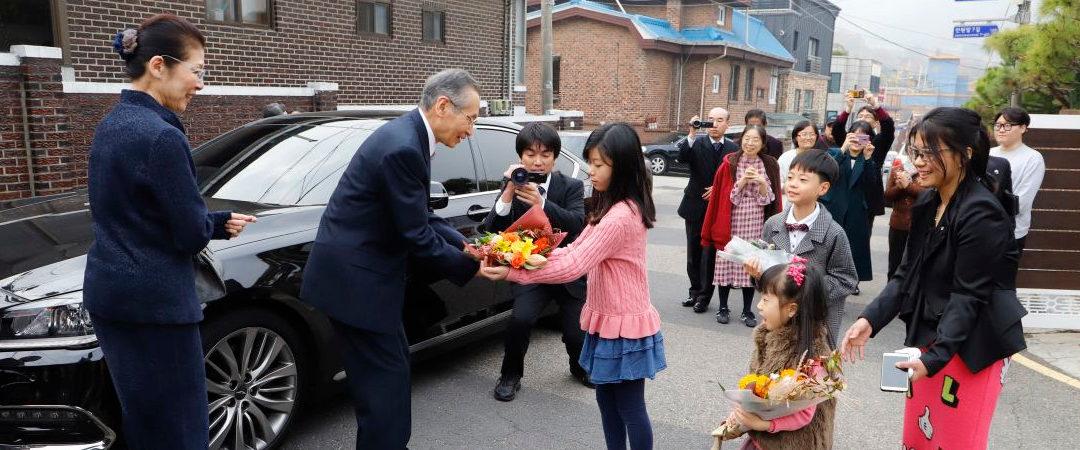 韓国本部30周年記念信徒大会 ー教主様ご巡教ー 11月6日