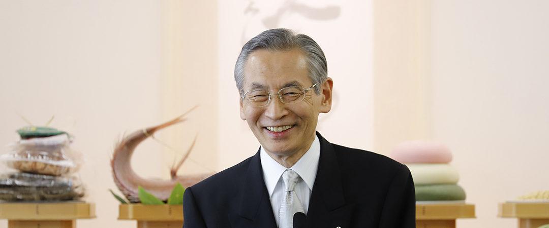 Prayer for World Peace & Grand Ancestor Service (August 3-5, 2018): Kyoshu-sama's Message