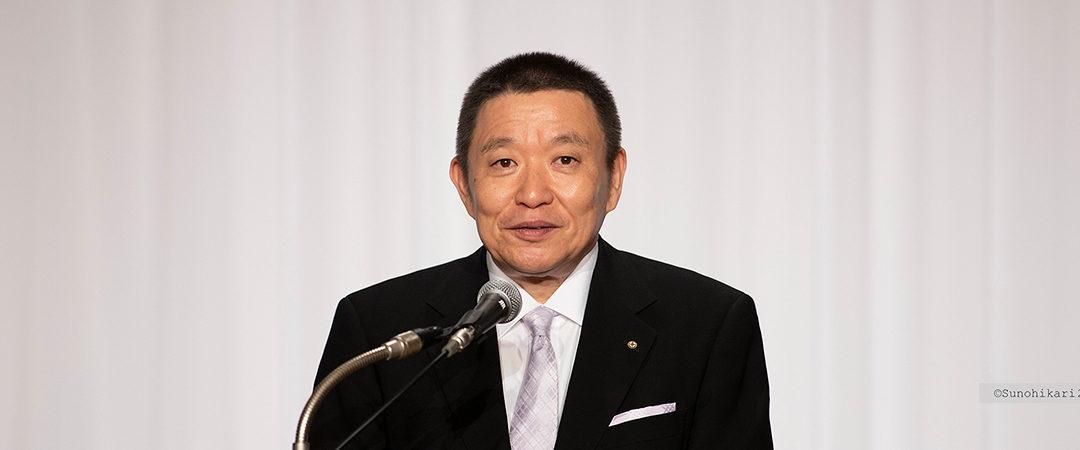 2019.10.14 秋季大祭 成井理事長挨拶