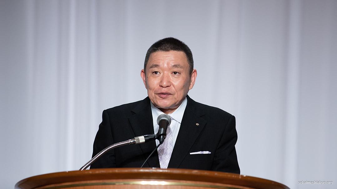 2020年 「世界メシア教 立春祭」成井理事長挨拶