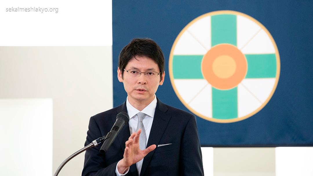 Saudação do Masaaki-Sama Encontro de Responsáveis de Área de Difusão