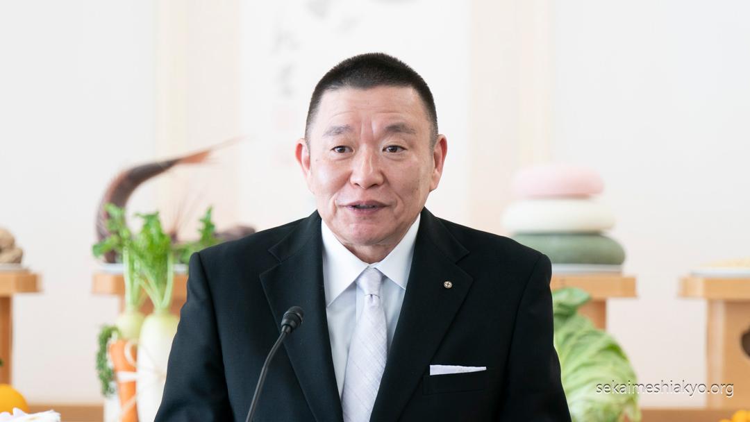 2020年「豊穣祈願祭」成井理事長挨拶