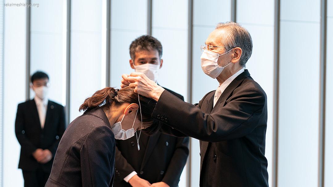 Cerimônia de Profissão de Fé na cidade de Osaka