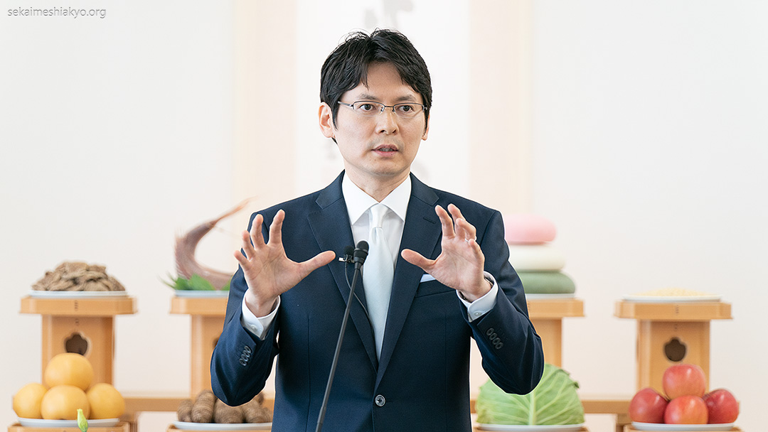 Saudação do Masaaki-Sama – Culto Mensal de Novembro de 2020