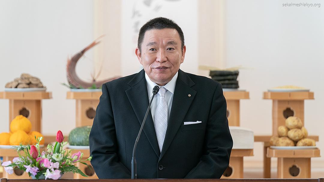 2021年「新年祭」成井理事長挨拶