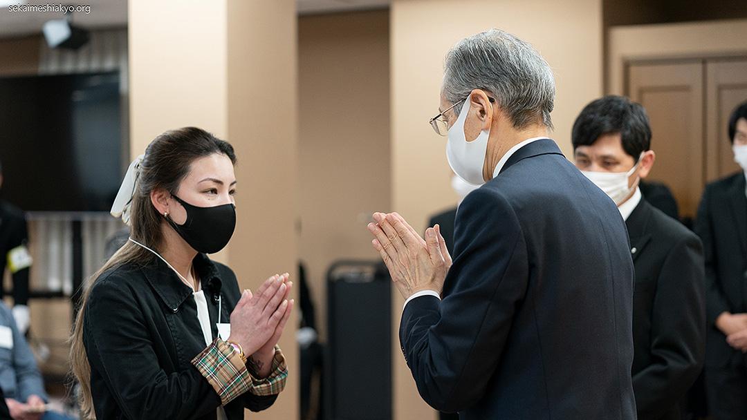 名古屋にて教主様ご出座の入信式