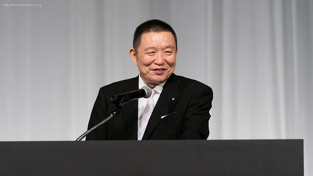 2021年「世界メシア教 祖霊大祭」成井理事長挨拶
